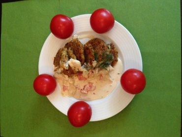 Kotleciki z kaszy gryczanej są smaczne i zdrowe (fot. materiały Krystynki)