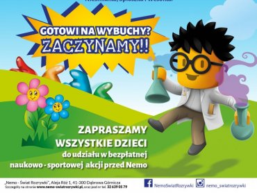 Na wybuchowe zajęcia krasnoludków zaprasza Nemo-świat rozrywki w Dąbrowie Górczniczej (fot. mat. organizatora)