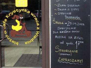 """""""Krystynka wraca z Wiednia"""" to kultowy, katowicki lokal, który po latach przeszedł metamorfozę i teraz znów zachwyca (fot. A. Borowczyk)"""