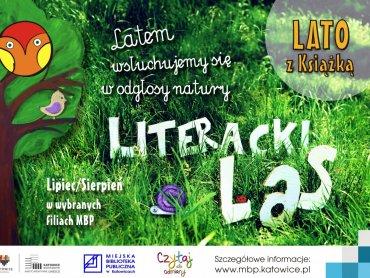 """Do """"Literackiego lasu"""" zaproszą Was bibliotekarze z katowickich bibliotek (fot. mat. organizatora)"""