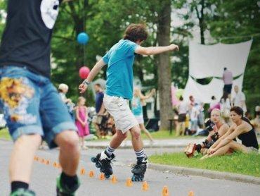 Lato w mieście na rolkach to propozycja Stwowarzyszenia Kulturalno-Sportowego Green na spędzenie wakacji (fot. materiały organizatora)