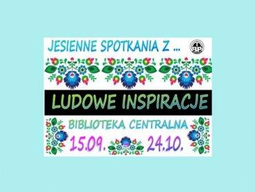 Na jesienne spotkania z folklorem zaprasza Miejska Biblioteka Publiczna w Żorach (fot. materiały MBP Żory)
