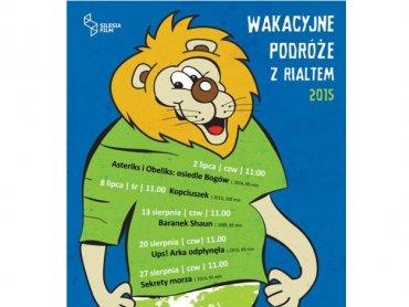 Wakacyjne podróże z Rialtem to cykl wakacyjnych seansów dla dzieci (fot. mat. organizatora)