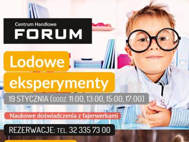 CH Forum zaprasza na cykl bezpłatnych eksperymentów (fot. mat. organizatora)