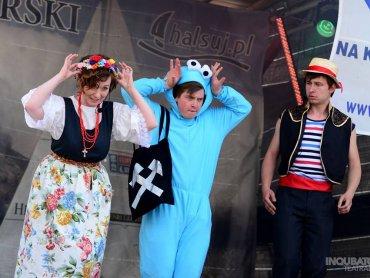 Kolejny weekend Międzynarodowego Festiwalu Artystów Ulicy to teatralna uczta - również dla dzieci (fot. mat. organizatora)
