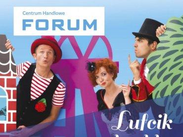 Sobotnie spotkanie z Lufcikiem na korbkę to miniatura teatralna i warsztaty dla dzieci (fot. mat. organizatora)