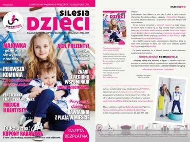 """Wiosenne wydanie magazynu """"Silesia Dzieci"""" dostępne jest także w wersji multimedialnej: www.magazyn.silesiadzieci.pl (fot. mat. red.)"""
