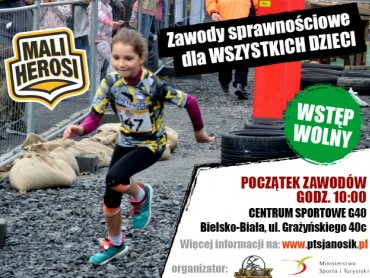 Mali Herosi wystartują 10 czerwca w Bielsku-Białej (fot. mat. organizatora)