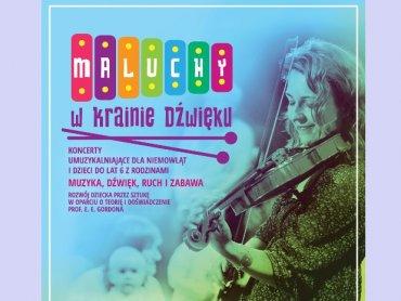 """W 2020 roku planowanych jest 5 koncertów z cyklu """"Maluchy w Krainie Dźwięków"""" (fot. mat. organizatora)"""