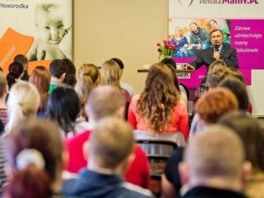 Styczniowa konferencja przyciągnęła wiele przyszłych mam (fot.materiały organizatora)