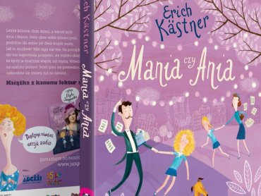 """""""Mania czy Ania"""" Ericha Kastnera została wydana przez wydawnictwo Jung-Off-Ska wraz z audiobookiem (fot. mat. prasowe)"""