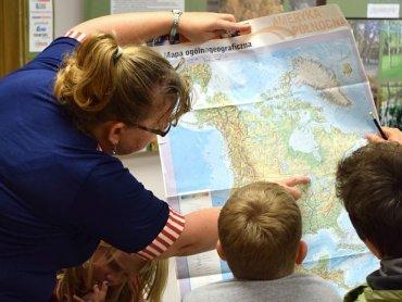 W tyskim Klubie Południk dzieci mogą zdobyć dodatkową wiedzę geograficzną (fot. Marta Płaza)