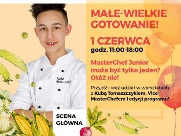 Gościem kulinarnego Dnia Dziecka w Forum będzie Kuba Tomaszczyk (fot. mat. organizatora)