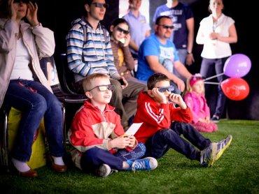 Mobilne kino z filmem w technologii 3D, prezentującym, jak powstają dania w McDonald's przyjedzie do Rybnika i Raciborza (fot. mat. organizatora)