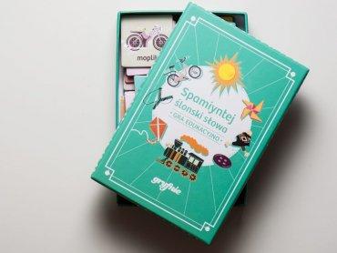 """Dobrym pomysłem na mikołajkowy prezent w śląskim stylu jest gra: """"Spamiyntej śląski słowa!"""", czyli regionalna wersja popularnego """"Memory"""" (fot. materiały prasowe)"""