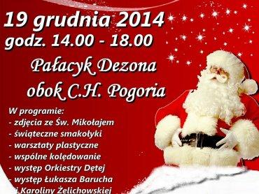 W Mikołajkowym Miasteczku odbędą się liczne atrakcje dla najmłodszych (fot. mat. organizatora)