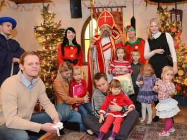 Święty Mikołaj zaprasza na spotkanie od 4 do 7 grudnia (fot. materiały Warowni Pszczyńskich Rycerzy)
