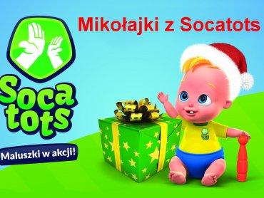 Aktywne Mikołajki z Socatots to mnóstwo zabawy i sportowych atrakcji (fot. mat. organizatora)