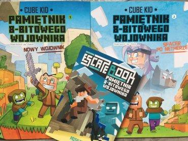Na rynku pojawiły się komiksy i kolejny tom książki o Minecrafcie (fot. Ewelina Zielińska/SilesiaDzieci.pl)