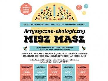 """""""Artystyczno-ekologiczny misz masz"""" w Bibliotece Śląskiej jest przeznaczony dla dzieci w wieku od 5 do 12 lat (fot. mat. organizatora)"""