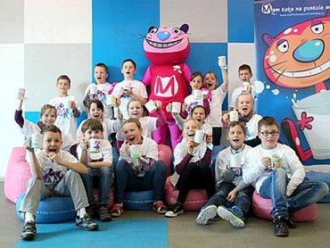 Kot Mleczysław odwiedzi Regionalny Ośrodek Kultury w Katowicach (fot. mat. organizatora)