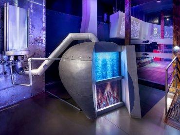 Wnętrza Zabytkowej Kopalni Srebra niebawem będą jeszcze nowocześniejsze (fot. mat. Kopalni)