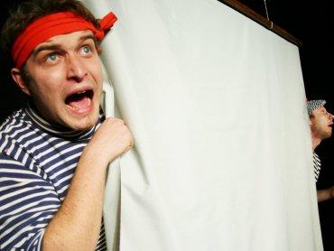 """""""Morskie opowieści Kapitana Guliwera"""" w wykonaniu Teatru Gry i Ludzie (fot. Teatr Gry i Ludzie)"""