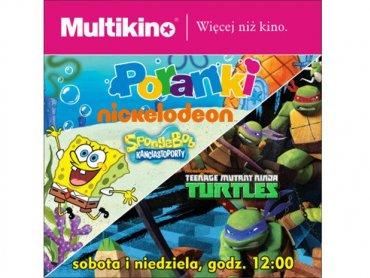 Na spotkanie ze SpongeBobem i Żółwiami Ninja zaprasza Multikino (fot. mat. kina)