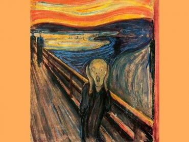 Krzyk 1893. Autor: Edward Munch (fot. wikipedia)