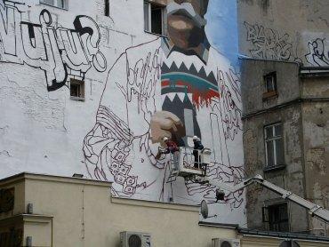 Murale są coraz powszechniej uprawianym rodzajem sztuki (fot. sxc.hu)