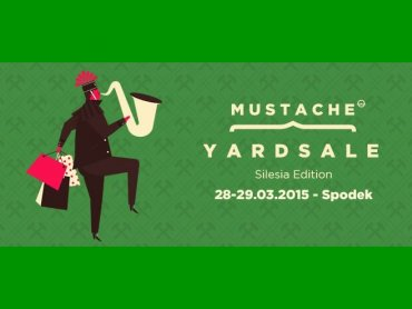 Pierwsza, śląska edycja Mustache Yard Sale odbędzie się w weekend 28-29 marca (fot. mat. organizatora)