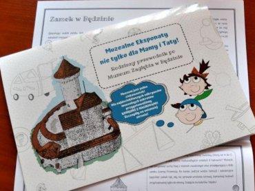 Mamy dla Was pięć egzemplarzy przewodników dla dzieci po Muzeum w Będzinie (fot. mat. prasowe)