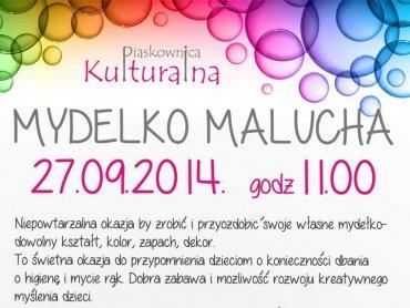 Mydełko Malucha to tytuł najbliższych warsztatów organizowanych przez Piaskownicę Kulturalną (fot. materiały organizatora)