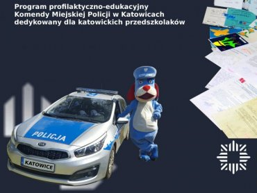 W ubiegłym roku policjanci odwiedzili blisko 80 przedszkoli (fot. Komenda Miejska Policji w Katowicach)