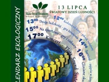 Z okazji Światowego Dnia Ludności Centrum Edukacji Przyrodniczej i Ekologicznej w Mikołowie zaprasza na imprezę (fot. materiały prasowe)