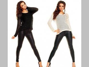 W naszym konkursie można wygrać kremowy lub czarny sweterek (fot. www.morillo.pl)