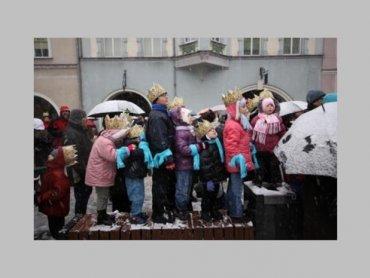 Orszak Trzech Króli przemaszeruje ulicami Gliwic (fot. mat. UM Gliwice / A. Ziaja)