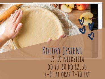13 października na warsztatach w Kids' Kitchen dzieci upieką szarlotkę i przygotują pizzę (fot. mat. organizatora)