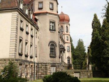Pałac w Bryku (fot. W. Trukowski/archiwum Muzeum w Gliwicach)