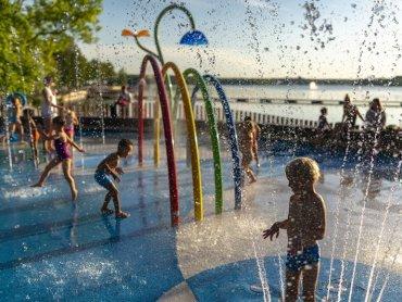 1 czerwca nastąpi otwarcie Wodnego Placu Zabaw w Tychach (fot. Michał Janusiński)