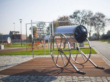 Park sensoryczny powstał przy Radiostacji Gliwice (fot. mat. ŚSM)