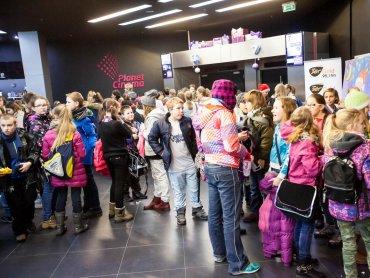 Teraz dzieci będą mogły za darmo obejrzeć co ciekawego zagra Planet Cinema w najbliższych tygodniach (fot. mat. Planet Cinema)