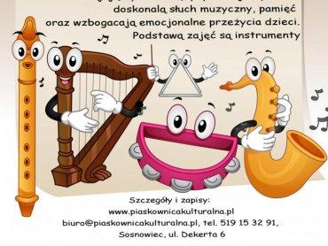 Piaskownica Kulturalna zaprasza na zajęcia muzyczne (fot. materiały organizatora)