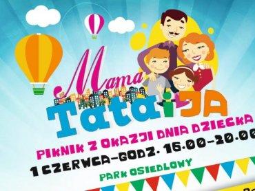 """""""Mama, tata i ja"""" to piknik organizowany przez Dom Kultury w Rybniku-Boguszowicach (fot. mat. organizatora)"""