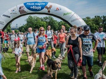 Piknik rodzinny +4łapy to wydarzenie dla miłośników psów (fot. mat. organizatora)