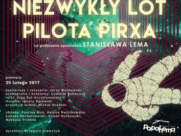 """""""Niezwykły lot Pilota Prixa"""" to spektakl stworzony na podstawie twórczości Stanisława Lema (fot. mat. organizatora)"""