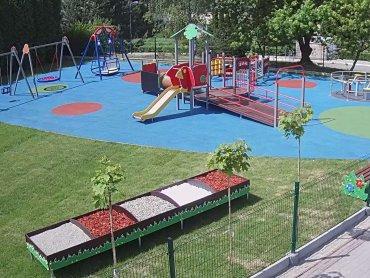 Pieniądze na plac zabaw, który stanął przy Górnośląskim Centrum Zdrowia Dziecka zostały zebrane w ciągu jednej doby (fot. mat. prasowe)