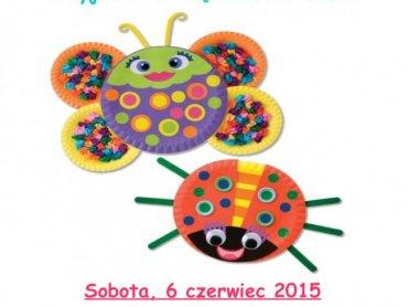 Podczas najbliższych warsztatów w Biobazarze dzieci wykażą się kreatywnością tworząc dzieła sztuki z papierowych talerzyków (fot. mat. organizatora)