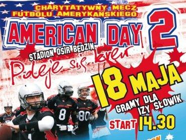 Amerykan Day to charytatywna impreza, która odbędzie się 18 maja w Będzinie (fot. materiały prasowe)