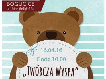 Twórcza wyspa to warsztaty dla rodzin w MDK Bogucice-Zawodzie (fot. mat. organizatora)
